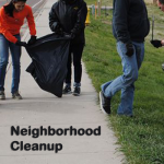 neighborhood cleanup