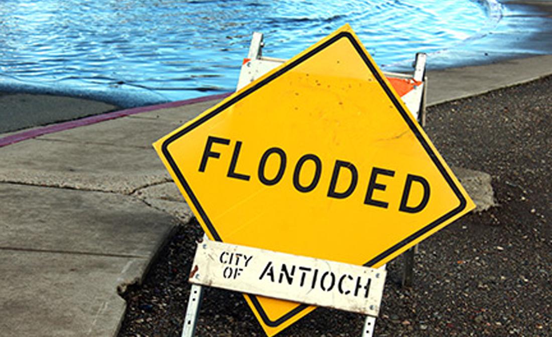 flooded sign lg