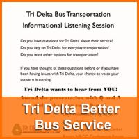 tri delta better bus service