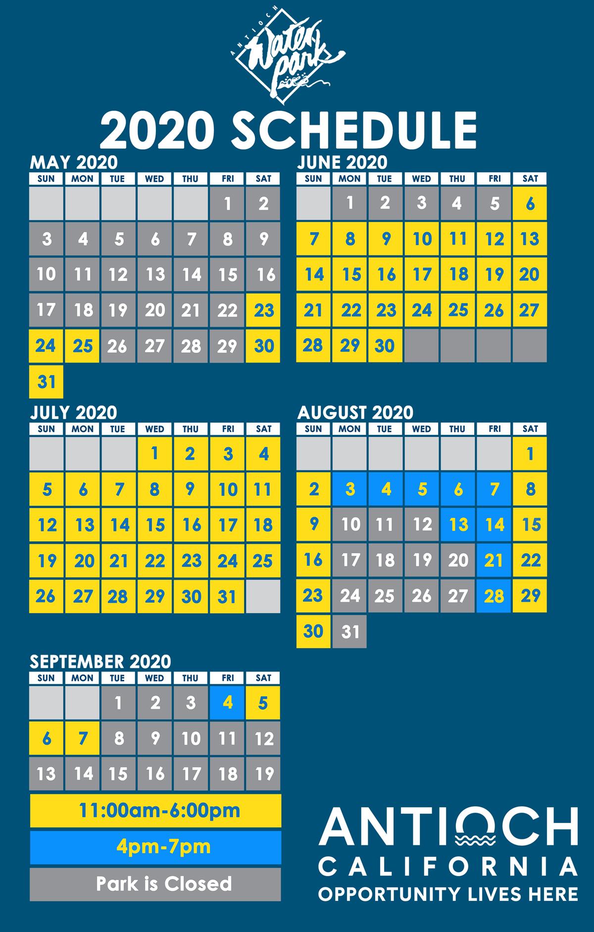 awp website schedule
