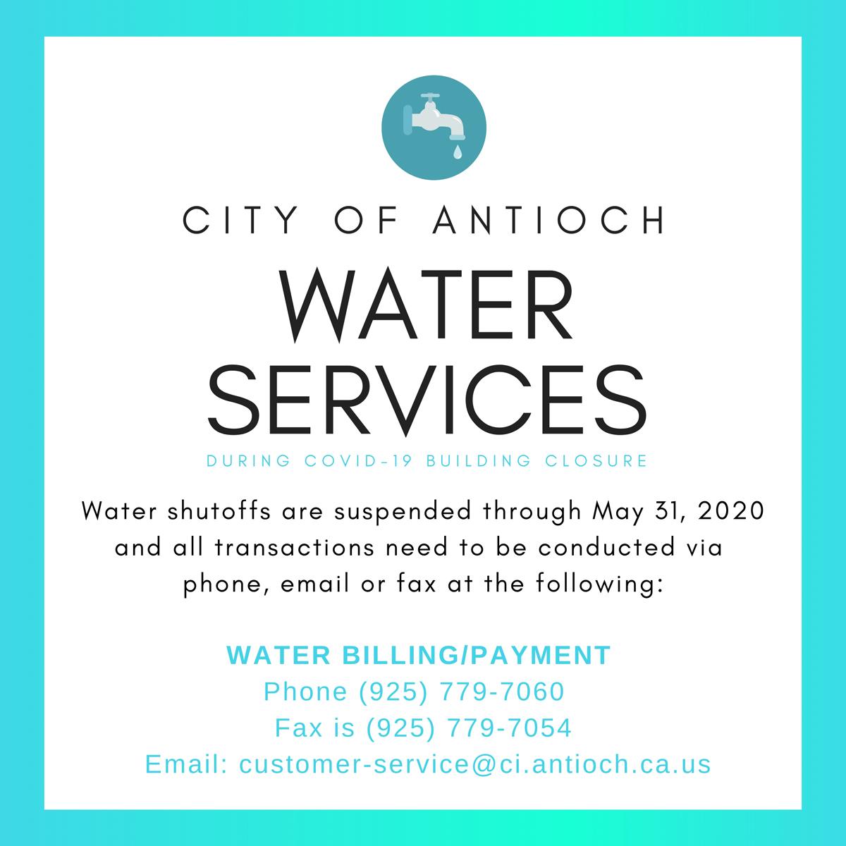 water services covid 053120 e