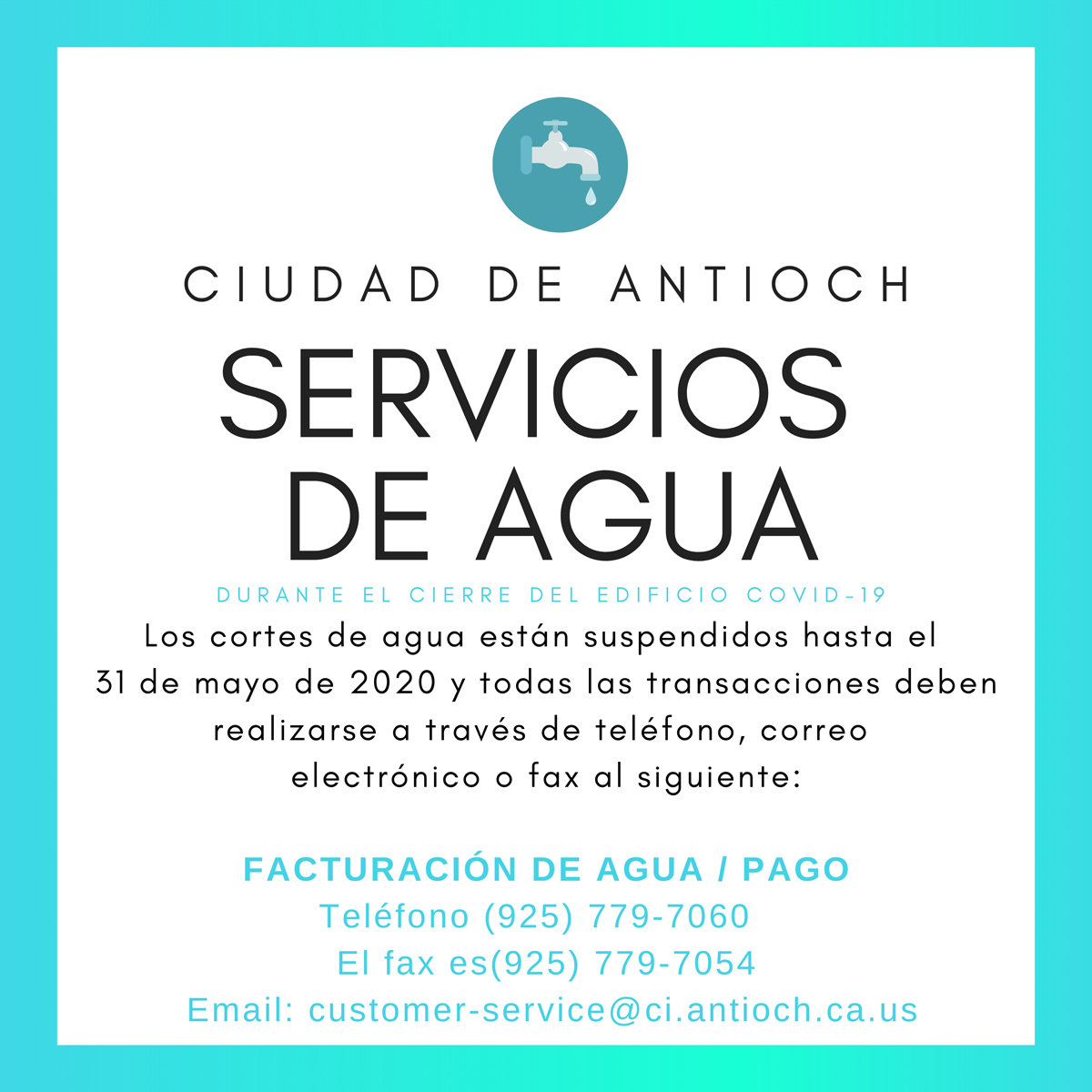 water services covid 053120 s
