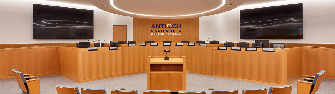 Antioch Council Chambers