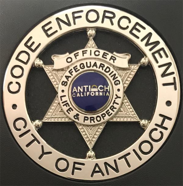 code enforcement badge